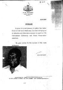 A.K.ANTONY,CHIEF MINISTER OF KERALA