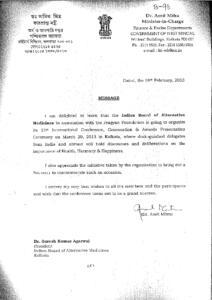 DR. AMIT MITRA,MINISTER IN CHARGE,FINANACE  EXCISE DEPT.,GOVT. OF WB