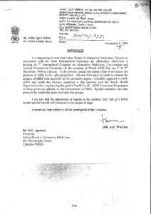 DR. ASHOK KUMAR WALIA,MINISTER OF HEALTH,INDIA