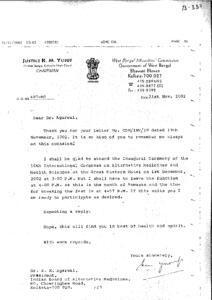 JUSTICE K.M.YUSUF, FORMER JUDGE,CALCUTTA HIGH COURT,CHAIRMAN W.B.MINORITIES COMMISSION