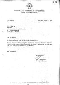 MARC FLEGENHEIMER, DEPUTY REGIONAL DELEGATE,INTL. COMMITTEE OF THE RED CROSS,NEW DELHI