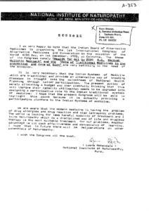 NATIONAL INSTITUTE OF NATUROPATHY, PUNE
