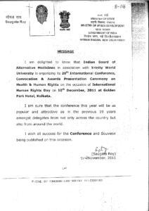 SOUGATA ROY,MINISTRY OF URBAN DEVELOPMENT,GOVT. OF INDIA